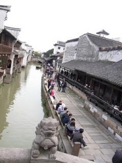 烏鎮 橋からの風景.JPG
