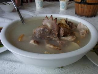 松茸と鳥のスープ.JPG
