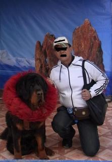 犬と私.JPG